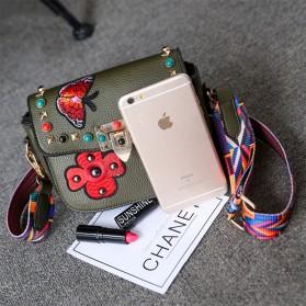 Tas Selempang Wanita Luxury Handbag - SABED1866 - Black - 6
