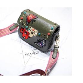 Tas Selempang Wanita Luxury Handbag - SABED1866 - Black - 7