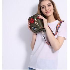 Tas Selempang Wanita Luxury Handbag - SABED1866 - Black - 8