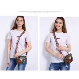 Tas Selempang Wanita Luxury Handbag - SABED1866 - Black - 9