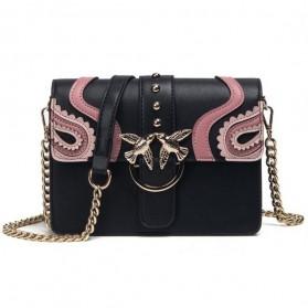 Tas Selempang Wanita Rivet Style Handbag - SAJSWG79953 - Pink