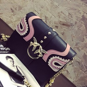 Tas Selempang Wanita Rivet Style Handbag - SAJSWG79953 - Pink - 2