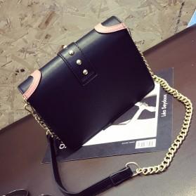 Tas Selempang Wanita Rivet Style Handbag - SAJSWG79953 - Pink - 4
