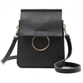 Tas Selempang Mini Messenger Korean - Black