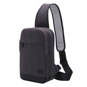 TINYAT Tas Selempang Sling Bag - T602 - Dark Gray - 1