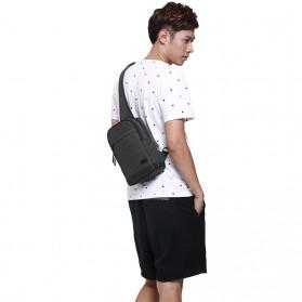 TINYAT Tas Selempang Sling Bag - T602 - Dark Gray - 6