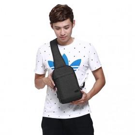 TINYAT Tas Selempang Sling Bag - T602 - Dark Gray - 7