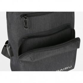 BAIBU Tas Selempang Sling Bag Kasual - J51-L9-Z50 - Gray - 3