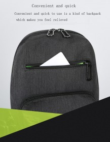 BAIBU Tas Selempang Sling Bag Kasual - J51-L9-Z50 - Gray - 5