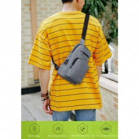 BAIBU Tas Selempang Sling Bag Kasual - J51-L9-Z50 - Gray - 7