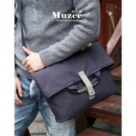 MUZEE Tas Selempang Messenger Bag - ME-1125 - Black - 5