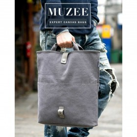 MUZEE Tas Selempang Messenger Bag - ME-1125 - Black - 7