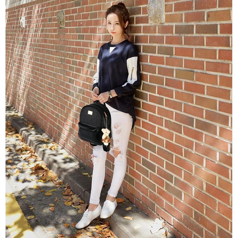 Tas Ransel Fashion Wanita Bag In Bag 2 In 1