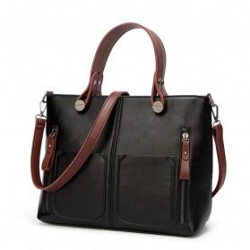 Tas Selempang Jinjing Wanita Europan American Fashion Bag - Black