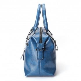 Tas Selempang Kulit Wanita Quality Leather - Gray - 3