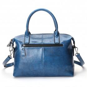 Tas Selempang Kulit Wanita Quality Leather - Gray - 4