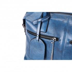Tas Selempang Kulit Wanita Quality Leather - Gray - 6