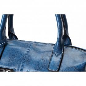 Tas Selempang Kulit Wanita Quality Leather - Gray - 8