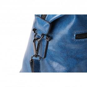 Tas Selempang Kulit Wanita Quality Leather - Gray - 9