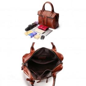 Tas Selempang Kulit Wanita Quality Leather - Gray - 10