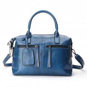 Tas Selempang Kulit Wanita Quality Leather - Blue