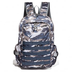 DC Meilun Tas Ransel Army PUBG Level 3 - CJ001 - Blue