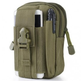 Airsson Tas Pinggang Mini Tactical Waistbag Army Look - JSH1525 - Army Green