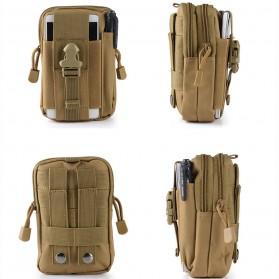 Airsson Tas Pinggang Mini Tactical Waistbag Army Look - JSH1525 - Army Green - 3