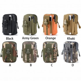 Airsson Tas Pinggang Mini Tactical Waistbag Army Look - JSH1525 - Army Green - 4