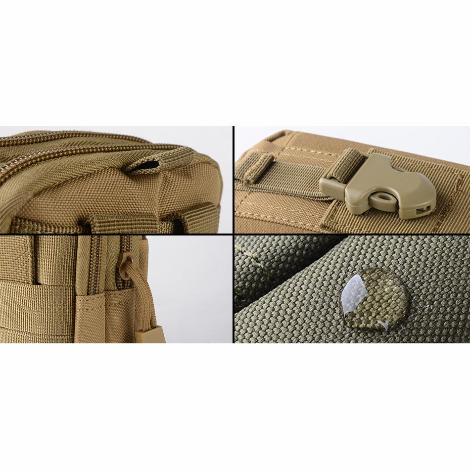 ... Tas Pinggang Mini Tactical Army Look - JSH1525 - Army Green - 2 ...