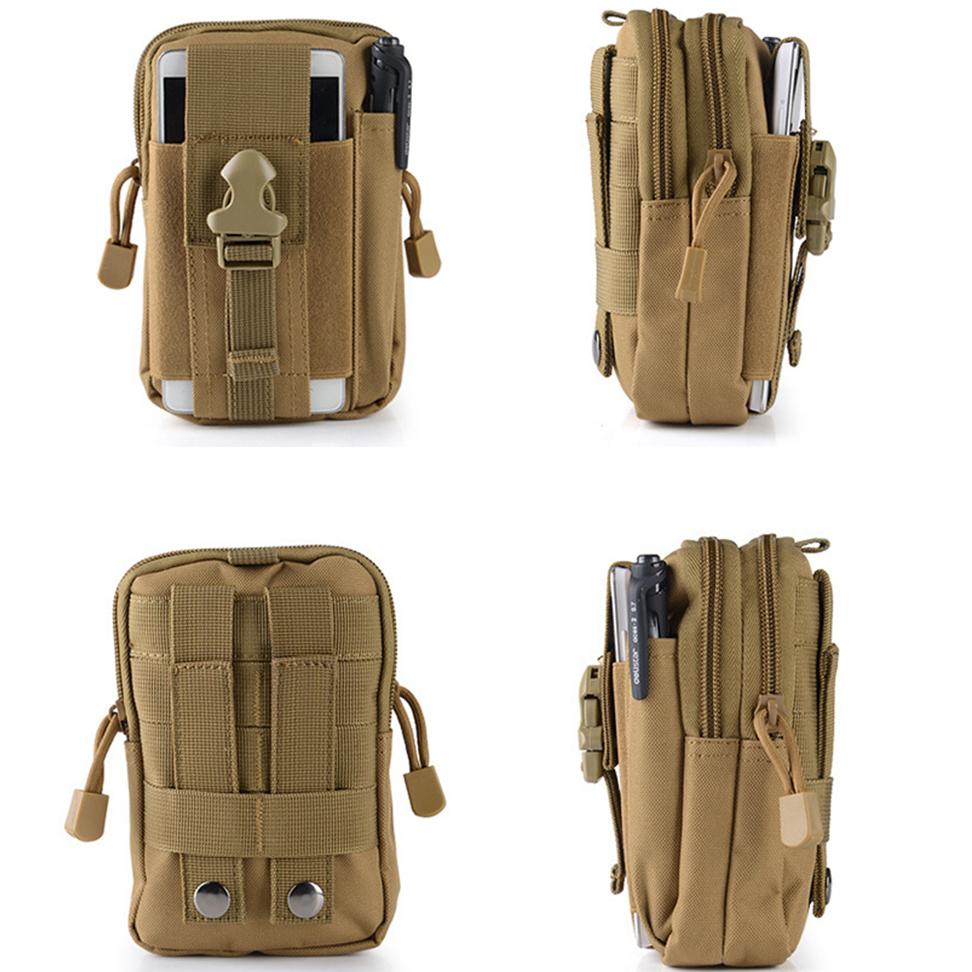 ... Tas Pinggang Mini Tactical Army Look - JSH1525 - Army Green - 3 ...