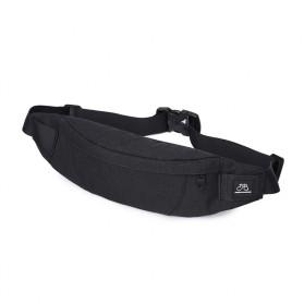 Tas Pinggang Pria 2 Ways Sling Bag - Black