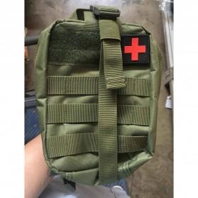 Tas Obat P3K Tactical Portable Waist Bag - A0311 - Black - 5
