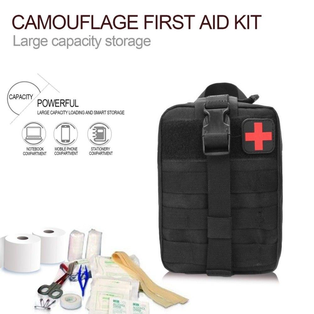 Tas Obat P3k Tactical Portable Waist Bag Black Kotak First Aid Kit Acr 2