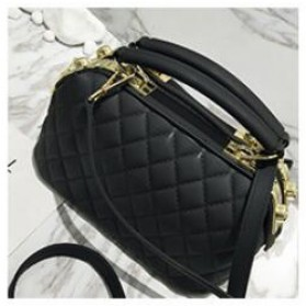 Tas Selempang Kasual Wanita Double Zipper - Black