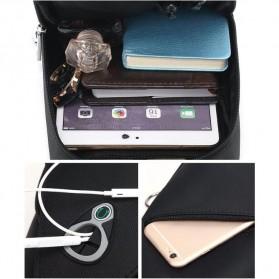 Tas Selempang Crossbody Bag Oxford Slim Leisure Cloth Waterproof - A1015 - Black - 2