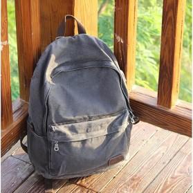 BUG Since 1963 Tas Ransel Backpack dengan USB Charger Port - P18001 - Black - 4