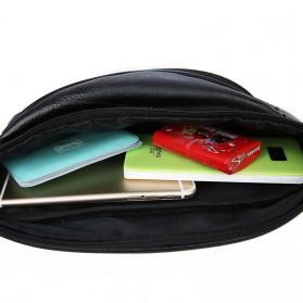 Hchuanghui Tas Pinggang Waistbag Pria Bahan Genuine Leather - MBA62 - Brown - 8