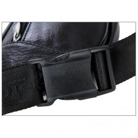 Hchuanghui Tas Pinggang Waistbag Pria Bahan Genuine Leather - MBA62 - Brown - 10