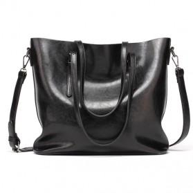 Tas Selempang Wanita PU Leather - 170071 - Black