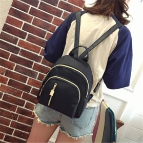Tas Ransel Wanita Korean Style Oxford  - P100214 - Black