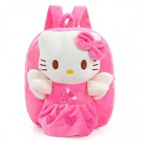 Tas Sekolah Anak Karakter Kartun Hello Kitty - LXHZS0001 - Pink - 1