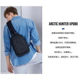 Arctic Hunter Tas Selempang Crossbody Pria Wired USB - XB00080 - Black - 6