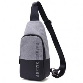Arctic Hunter Tas Selempang Crossbody Pria - XB00058 - Light Gray