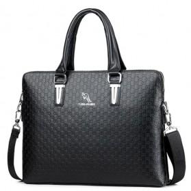 YUES KANGAROO Tas Selempang Kulit Wanita Quality Leather - HA-048 - Black