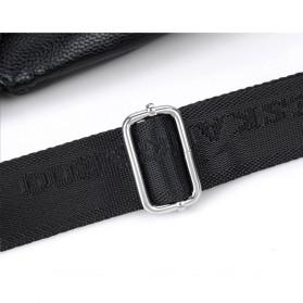 Rhodey Tas Selempang Kulit Crossbody Sling Bag - HA-034 - Black - 10