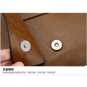 Rhodey Sulppai Tas Selempang Messenger Bag Kulit Maskulin Pria - PI513 - Black - 5