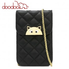 Doodoo Tas Selempang Mini Sling Bag - Black