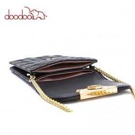 Doodoo Tas Selempang Mini Sling Bag - Black - 3
