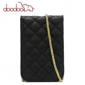 Doodoo Tas Selempang Mini Sling Bag - Black - 4